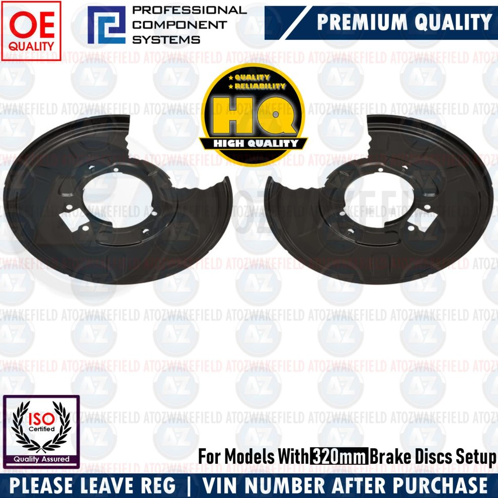 FOR MERCEDES C CLASS 2007-2014 REAR SOLID BRAKE DISCS PADS WIRE SENSOR 300mm