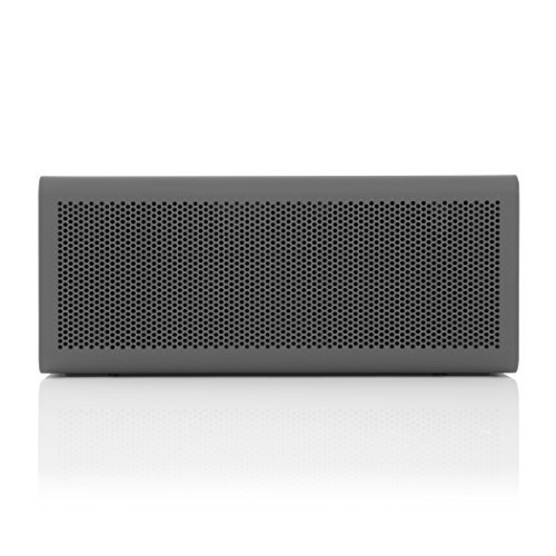 BRAVEN 805 Portable Wireless Bluetooth Speaker 18 Hour Playtime Built In 4400 mAh Power Bank Charger GrayBlack