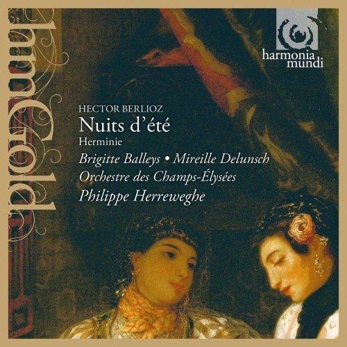 Brigitte Balleys - Berlioz: Nuits dete, Herminie [CD]