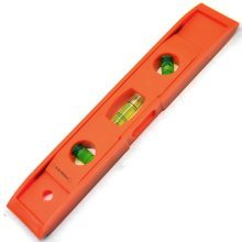 Magnetic Spirit Level Bobble 3 Vile Flat Straight Scaffold Shelf Pocket Sil149