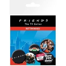 Friends Characters Badge Pack