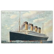 Pyramid International Titanic 7 Wood Print, Multi-Colour, 45 x 76 cm