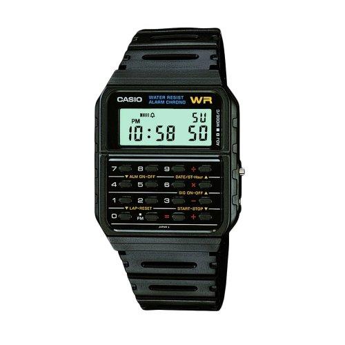 Casio CA53W-1ER Casio Collection Calculator Wristwatches - Black