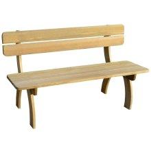 vidaXL Garden Bench Impregnated Pinewood
