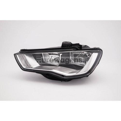 Headlight left Audi A3 12-16