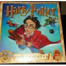 HARRY POTTER CALENDAR 2001