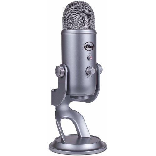 Blue Microphones Yeti USB Microphone, Space Grey