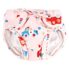 Reusable Swim Diaper Adjustable Absorbent Shower Diapers for Baby Toddler, A12