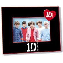 One Direction 1d Black & Red Photo Frame -