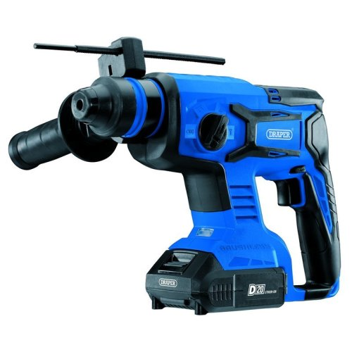 D20 20V BRUSHLESS SDS+ ROTARY HAMMER DRILL WITH 2 X 2AH BATTERIES AND CHARGER
