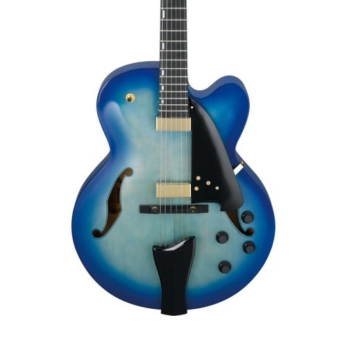 Ibanez AFC155-JBB Contemporary Archtop Electric Guitar, Jet Blue Burst