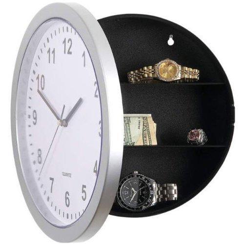 Secret Wall Clock Home Safe