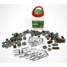 "Eureka Tub Of Money, 318 Pieces in 3 3/4"" x 5 1/2"" x 3 3/4"" Tub"