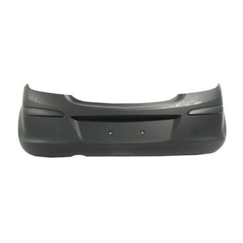 Vauxhall Corsa 3 Door Hatchback  2011-2014 Rear Bumper No Sensor Holes or Bike Rack System - Primed (Standard Models)