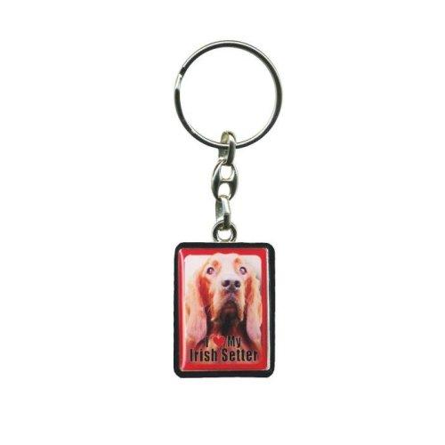 Irish Setter Dog Keyring