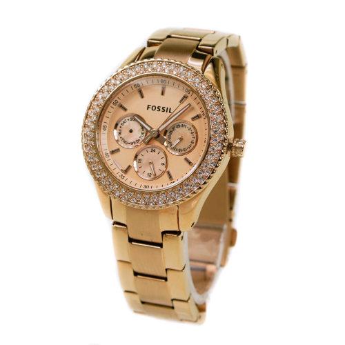 c8d7c270de6e Fossil Stella Rose Gold Chronograph Watch ES3003 on OnBuy