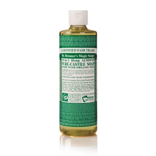 Dr Bronner Org Almond Castile Liquid Soap 473ml
