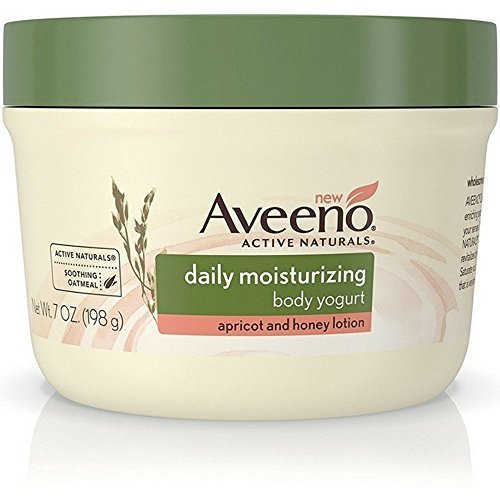 Aveeno Daily Moisturizing Body Yogurt Lotion, Apricot and Honey, 7 Ounce