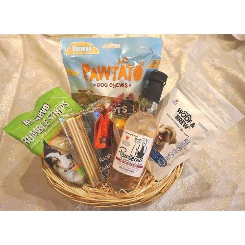 Vegan, Vegetarian Dog Christmas gift hamper