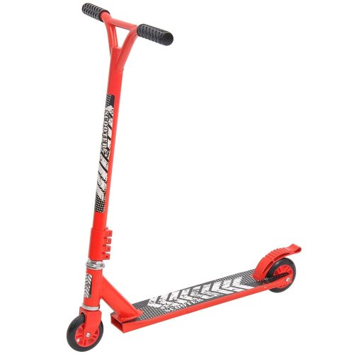 Homcom Push Stunt Scooter, 2 Wheels, Fixed Bar, 360 Degree