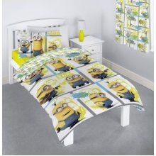 MINIONS DUVET SET SINGLE MINIONS MOVIE