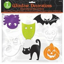 Halloween Window Clings 30cm x 30cm (pack size)