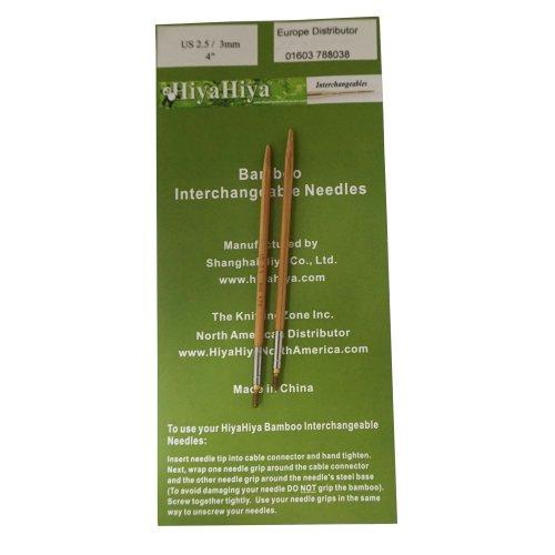 HiyaHiya 4-inch x 3 mm Bamboo Tips