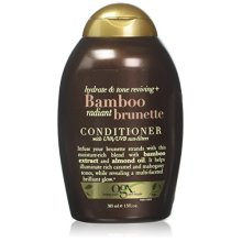 OGX Hydrate &amp Color Reviving + Bamboo Radiant Brunette Conditioner, 13 Ounce