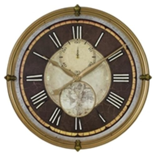 Aspire 4264 Ridgeport Round Wall Clock
