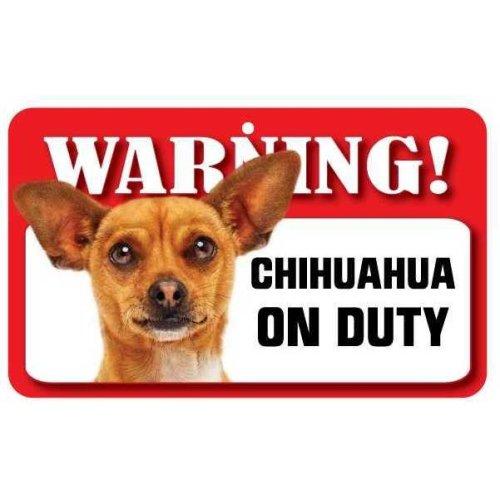 Tan Chihuahua Pet Sign