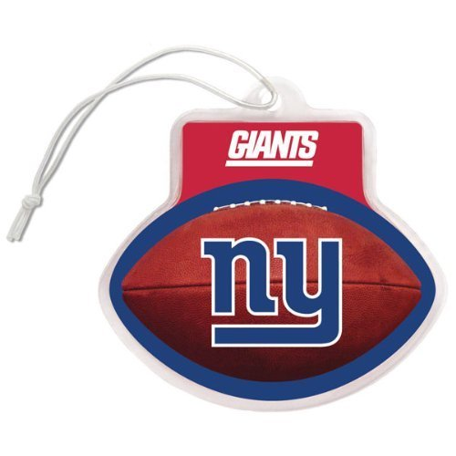 NFL New York Giants Auto Air Freshener, 3-Pack