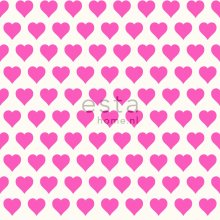 wallpaper hearts pink and white - 136812