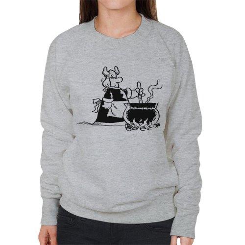 Hagar The Horrible Helga Dinner Time Women's Sweatshirt