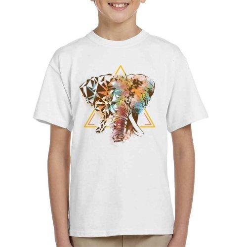 Geometric Elephant Kid's T-Shirt