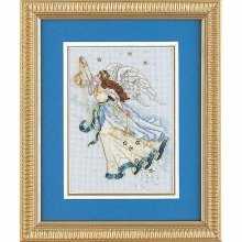 D06711 - Dimensions Counted X Stitch - Gold Petite, Twilight Angel