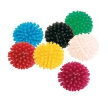 120 Hedgehog Balls, Vinyl, Ø 3cm - Ball Cats One Kitten Toy Trixie Balls Pack -  hedgehog ball cats one 3 cm kitten toy trixie balls pack 7 addicted