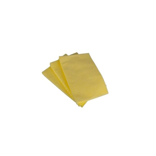 Disposable Wiping Cloths -  Yellow - Pack of 50