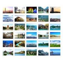 30PCS 1 Set Creative Postcards Artistic Beautiful Postcards, Chinese Articles