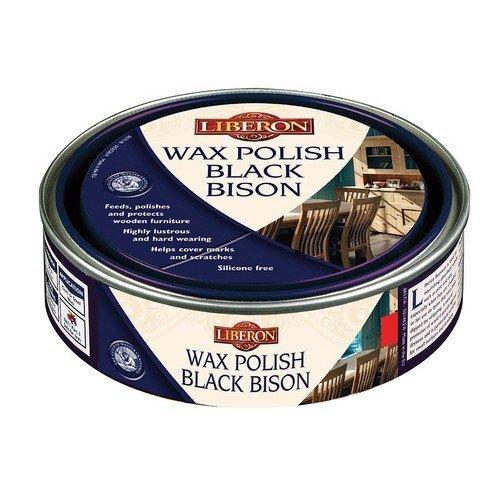 Liberon 070745 Wax Polish Black Bison Medium Oak 150ml