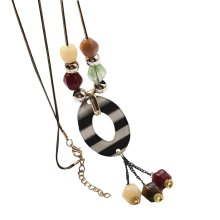 Fashionable Necklace For Woman With Beautiful Multi-color Pendant