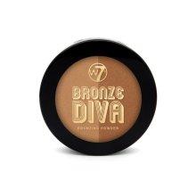 W7 Bronze Divas Bronzing Powder Bronzed