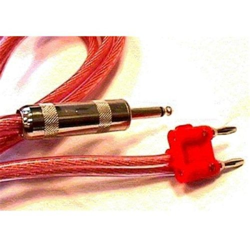 HOSA TECHNOLOGY INC. SKM250BN 12AWG x2  50 ft. Speaker Wire with banana on one end & 1/4 Inch plug