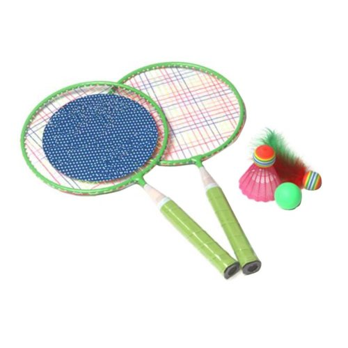 Cute Children Sports Racket Toys Tennis/Badminton Racket-Green