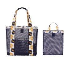 Travel Portable Bath Bag Mesh Swimming Packs Set Shoulder Bag-A3