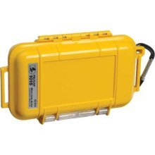 Pelican Products Micro Dry Case (1015), Yellow