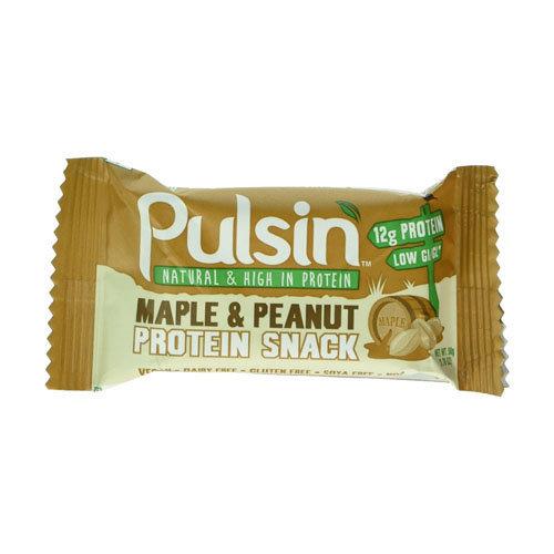 Pulsin  Maple & Peanut Protein Snack 50g x 18