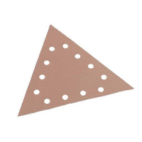 Flex Power Tools 348.562 Sanding Paper Hook & Loop Triangle 80 Grit Pack of 25