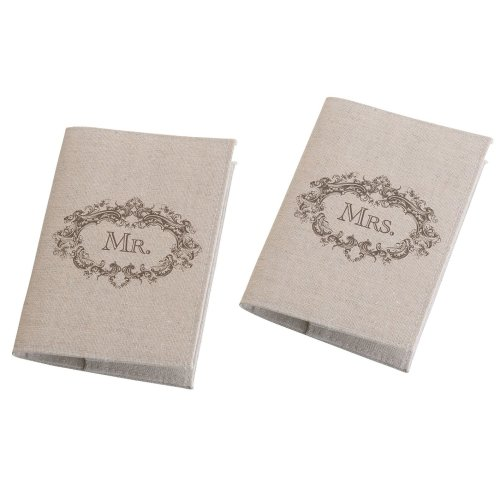 Mr. And Mrs. Tan Passport Covers