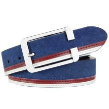 Artificial Leather Belts Bales Catch Fashionable Joker Casual, Mens/Boys, Blue