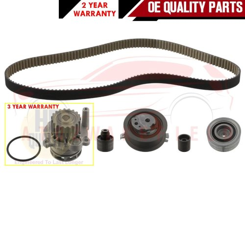 FOR VW GOLF MK6 1.6 TDi CAYC CAYB TIMING CAM BELT WATER PUMP KIT 2009-2012